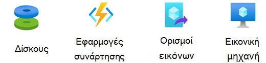 Στάμπο υπολογισμών Azure.