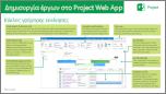 """Δημιουργία έργων στον """"Οδηγό γρήγορης εκκίνησης"""" του Project Web App"""