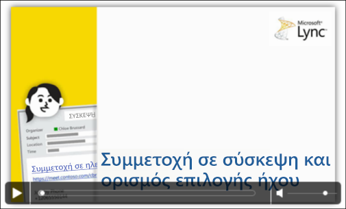 Στιγμιότυπο οθόνης διαφάνειας του PowerPoint με στοιχεία ελέγχου βίντεο