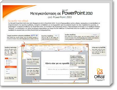 Μικρογραφία του 'Οδηγού μετεγκατάστασης του PowerPoint'