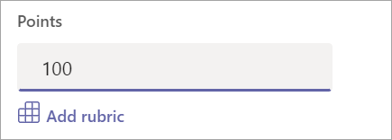 Προσθήκη πόντων ή κλίμακας διαβαθμισμένων κριτηρίων.
