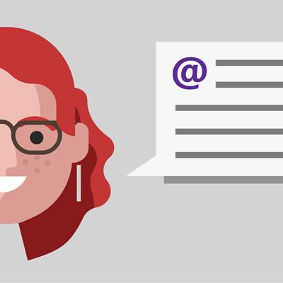 Μάθετε περισσότερα σχετικά με την ιστορία της Linda σχετικά με την εργασία με σχόλια.