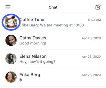 εικονίδιο σίγασης συνομιλίας
