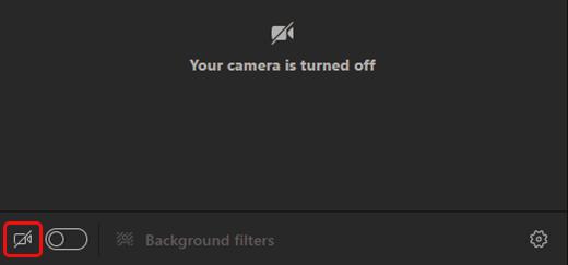 Επιλέξτε το εικονίδιο κάμερας για να ενεργοποιήσετε την κάμερα