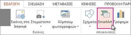 Επιλογή SmartArt