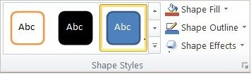 The Shape Styles group