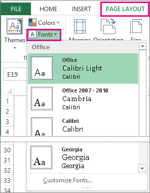 2 choose the right font