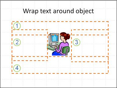 slide with object, textboxes shown and numbered, no text.