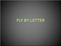Custom animation effects: fly by letter