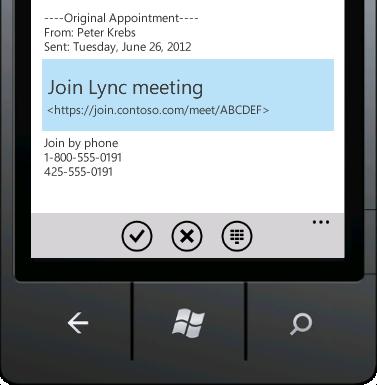 Join Lync meeting