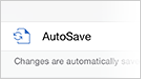 AutoSave