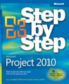 Cover of Microsoft Press Step by Step Project 2010