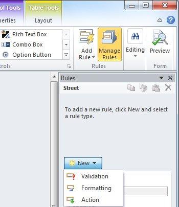 Add formatting rules