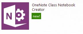 Class notebook creator ap icon