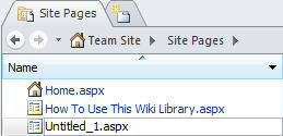 Adding pages to SharePoint Designer 2010