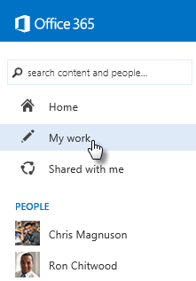 Use views to find people and information