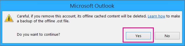 When you remove your gmail account from Outlook, click Yes at the warning about your offline cache being deleted.