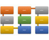 Vertical Bending Process SmartArt graphic layout