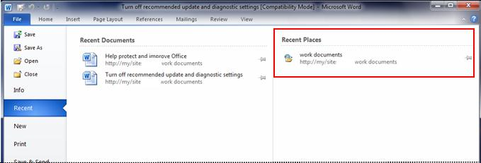 how to delete recently viewed files on windows 10