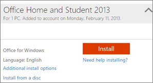 reinstall outlook 2013