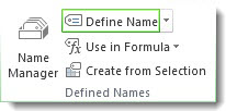 Define Name command