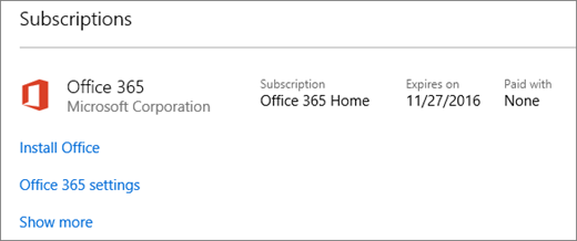 microsoft office 365 home. if your office 365 trial was installed on new pc it will expire microsoft home e