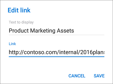 Add link menu image.