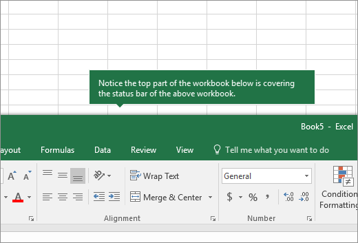 Where are my worksheet tabs? - Excel