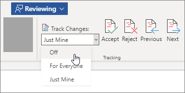 Turn off Track Changes.