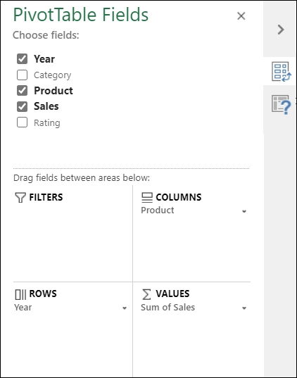 create a pivottable to analyze worksheet data office support