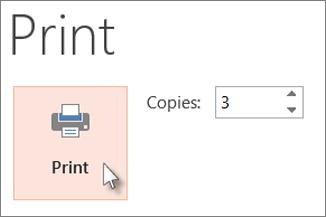 Click Print