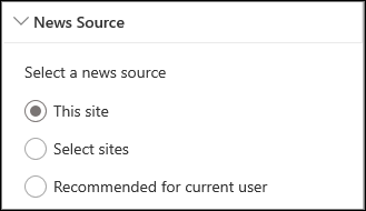 New sources