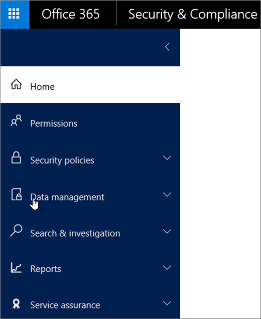 The Office 365 Security & Compliance Center