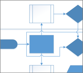 Add Or Remove Connector Line Jumps Visio