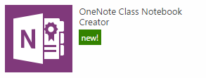 the class notebook creator app icon