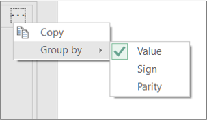 An example of additional Group By commands