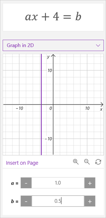 equation reads 3x-2=5