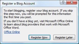 the blog post tab