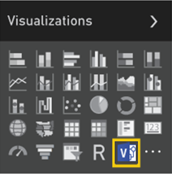 The new custom visual icon