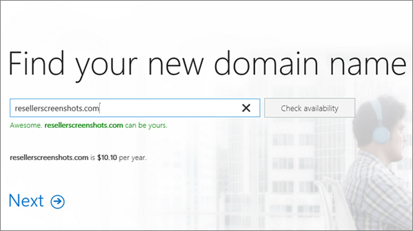 Step 2 to buy a domain: Find the name