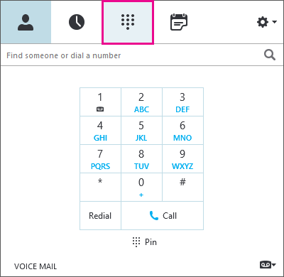Edit phone number dialog box