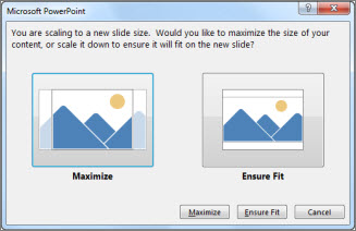 change the size of your slides - office support, Powerpoint templates