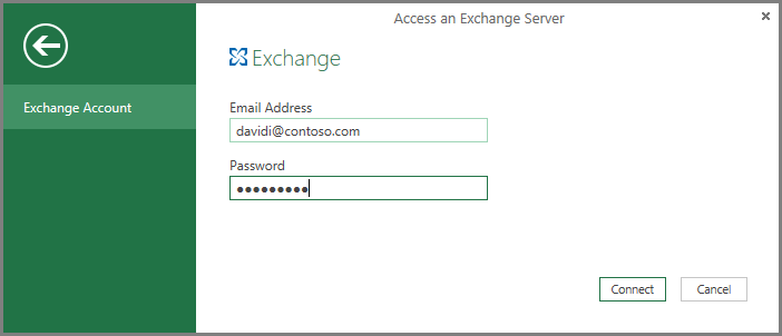Exchange credentials