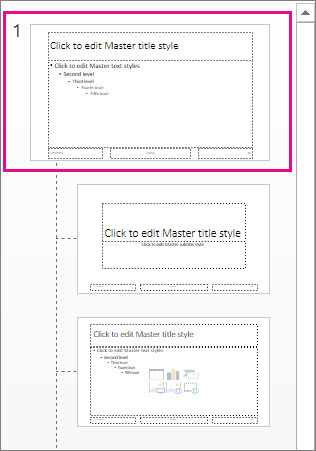 Create and save a powerpoint template powerpoint slide master toneelgroepblik Choice Image