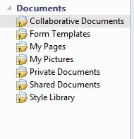 Unsynchronized icon appended to lists in a SharePoint workspace
