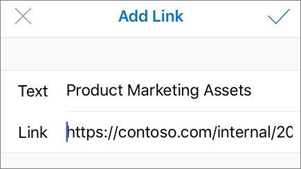 Add link menu image