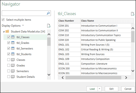 Create a Data Model in Excel - Excel