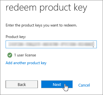 windows license key example