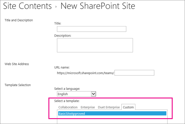 Create And Use Site Templates Sharepoint