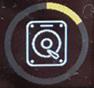 Drive cache rebuild icon